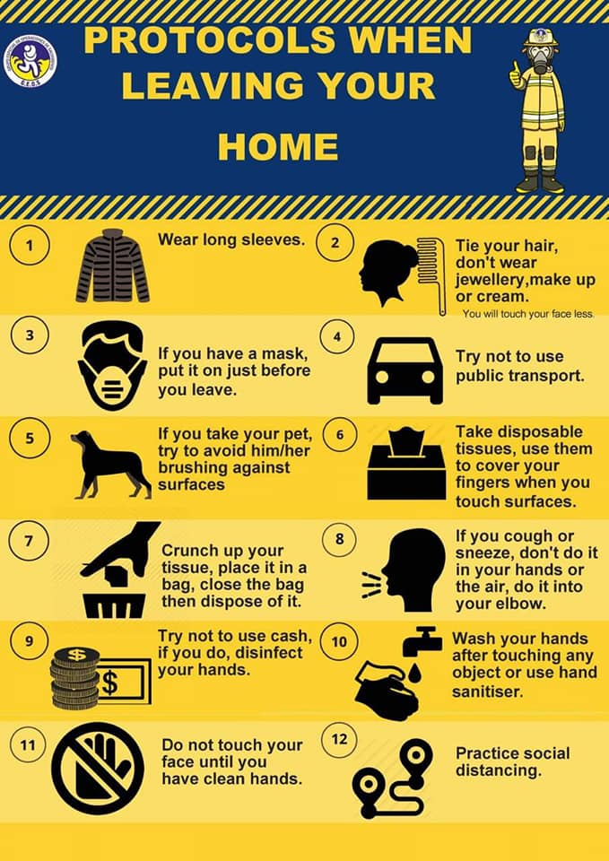 Protocols When Leaving Your Home