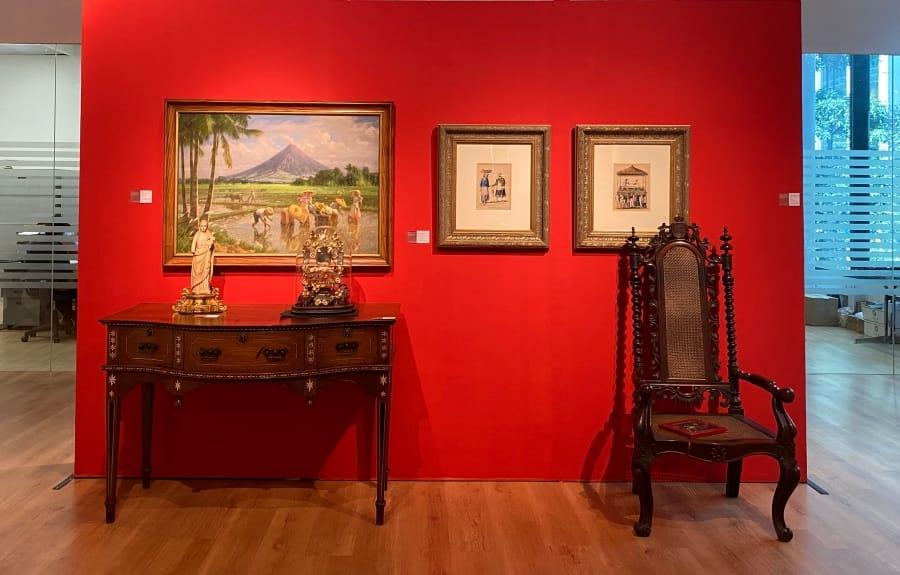 IN PHOTOS: 'Important Philippine Art & Furniture'