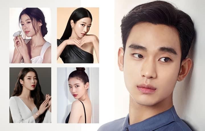 Kim Soo-Hyun's K-Drama Leading Ladies