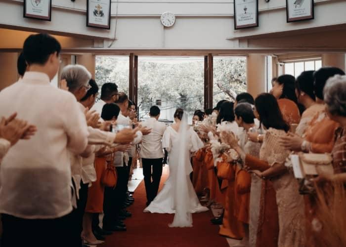 Jonathan Pabillore and  Dominique Gana's Filipino-themed wedding