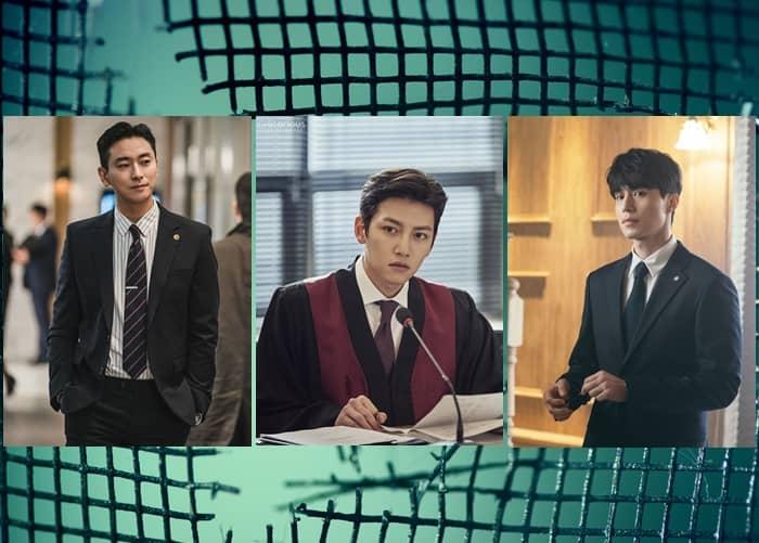 K-Drama Actors As Lawyers & Prosecutors