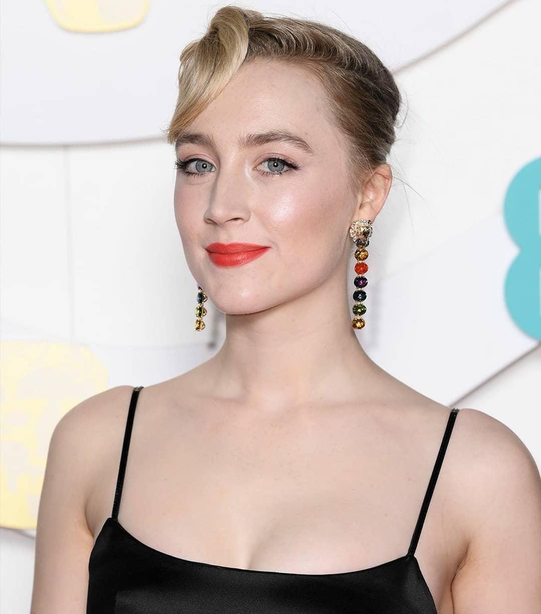 Saoirse Ronan at the 2020 BAFTAs