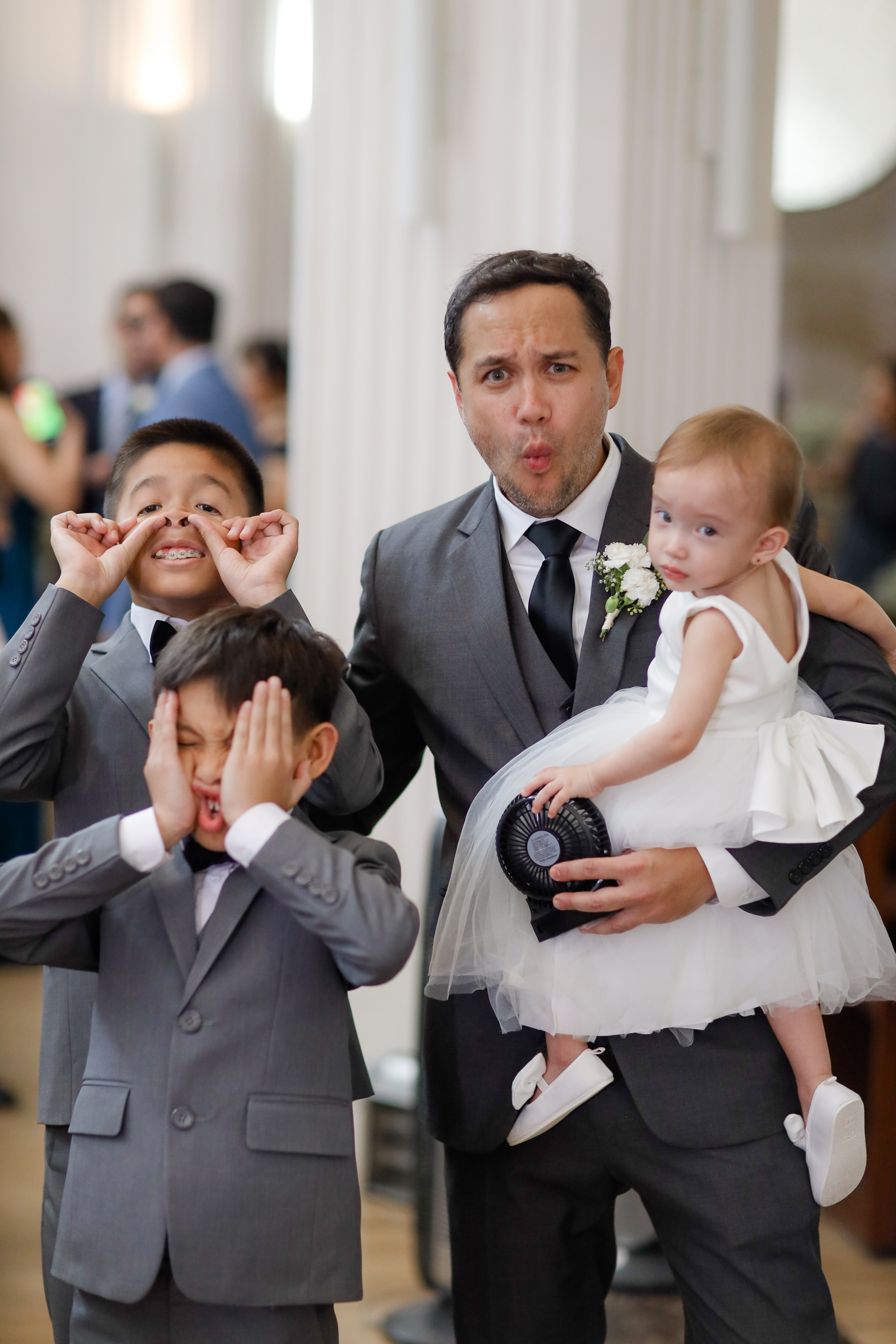 Michelle & Manolo's Neutral-Themed Wedding