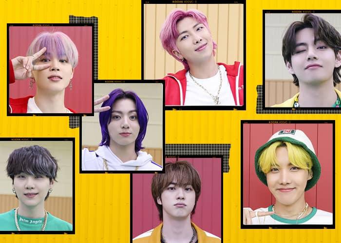 BTS Hair Evolution Part 2