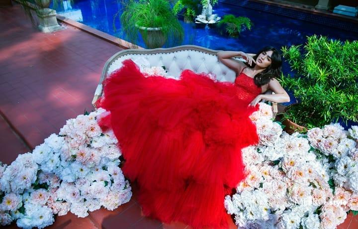 Andrea Brillantes' Fashion Debut