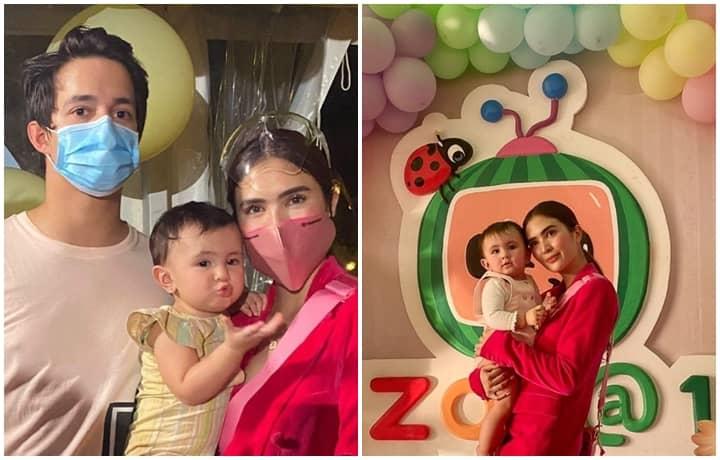 Baby Zoe Natalia's First Birthday Party