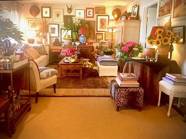 Filipino Maximalist Living Room