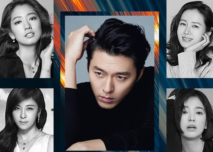 Hyun Bin's Leading Ladies
