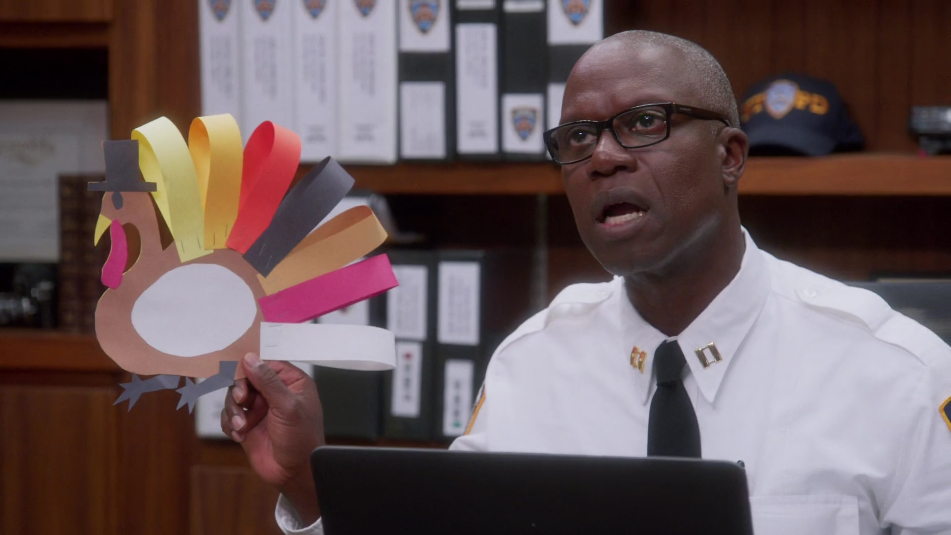 Captain Holt (Andre Braugher) in Brooklyn 99