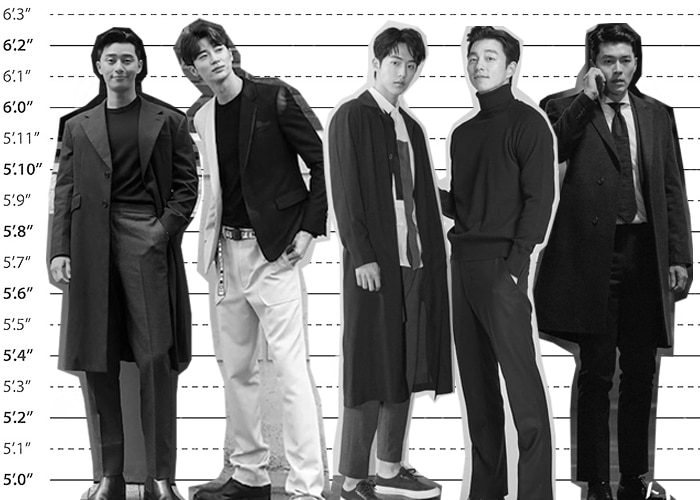 Tallest Korean Actors