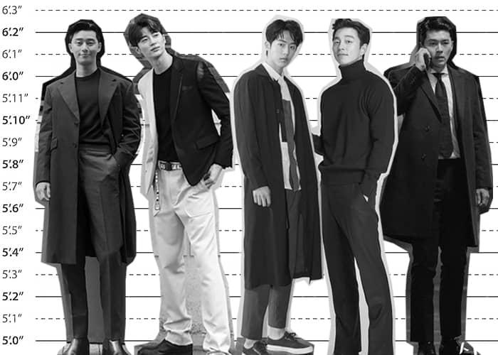 Tallest Korean Actors
