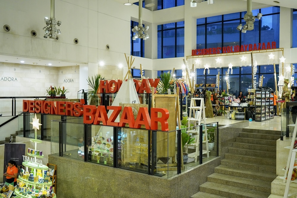 The Gallery at Greenbelt 5 is abuzz with the Designers' Holiday Bazaar through Dec. 15