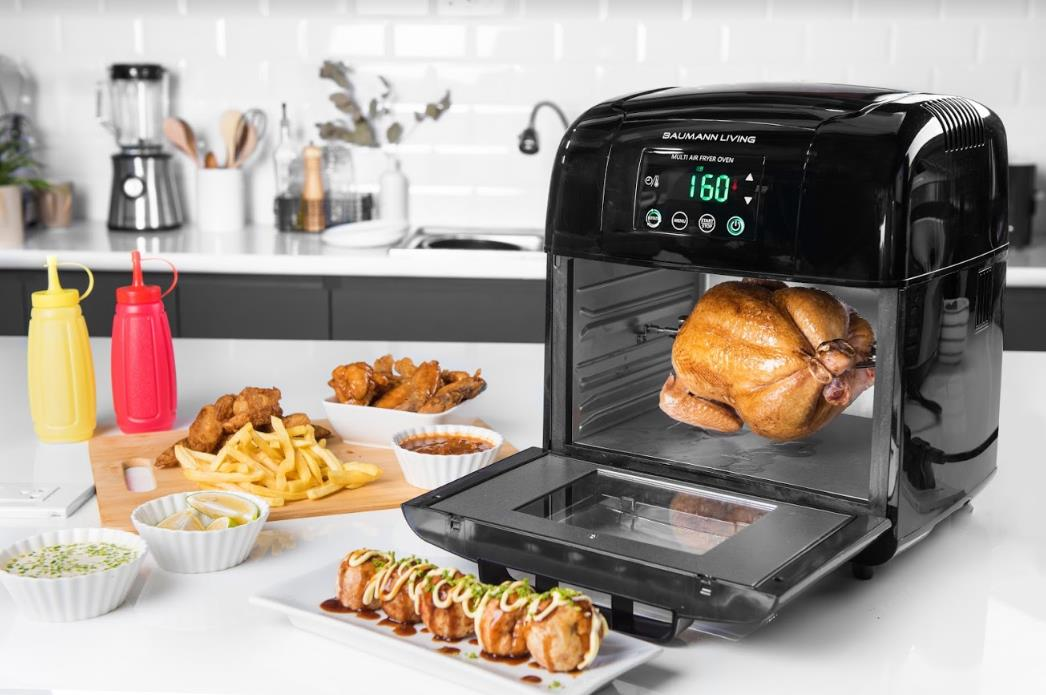 Multi air fryer oven with rotisserie by Baumann Living, P6,995