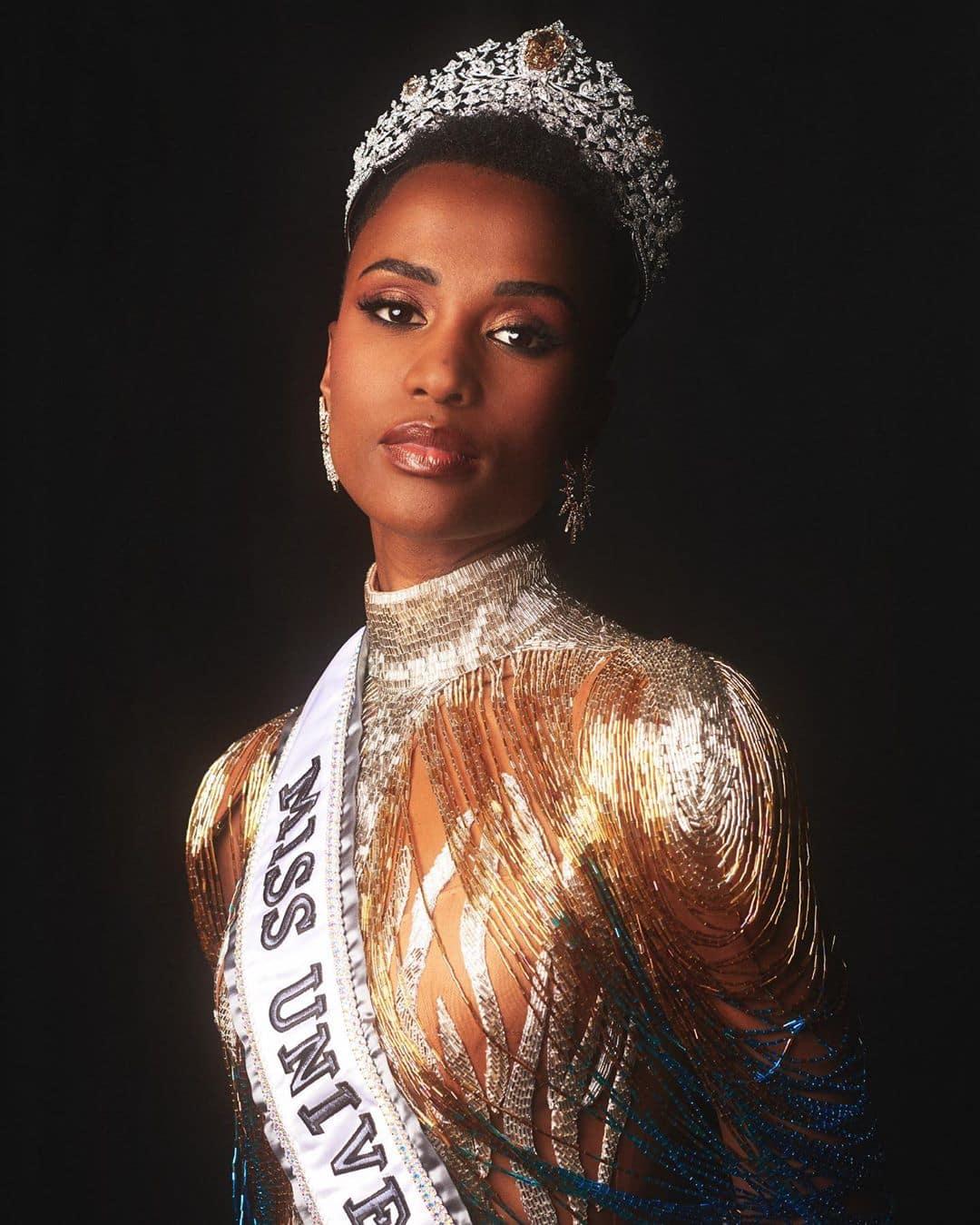 Zozibini Tunzi is Miss Universe 2019