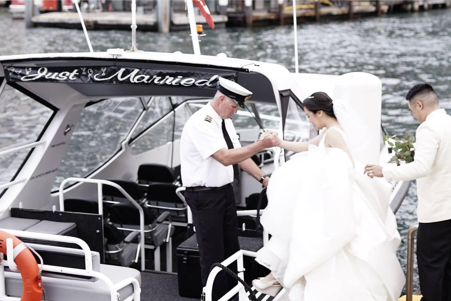 real weddings michelle barrera santi juban 0