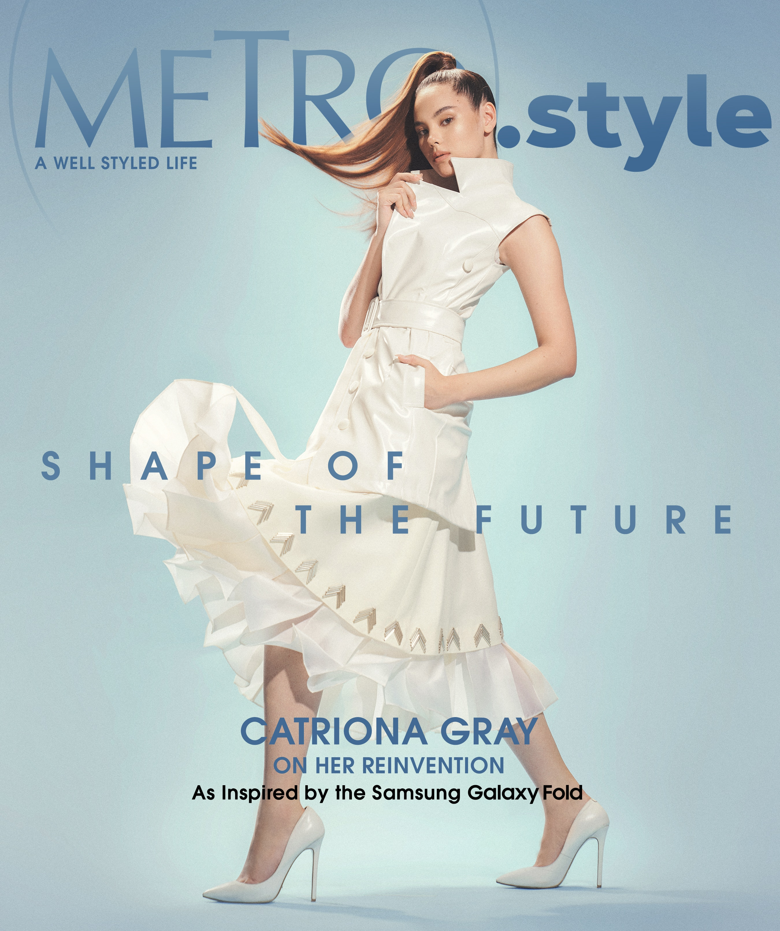 Catriona Gray is on this week's cover of Metro.Style