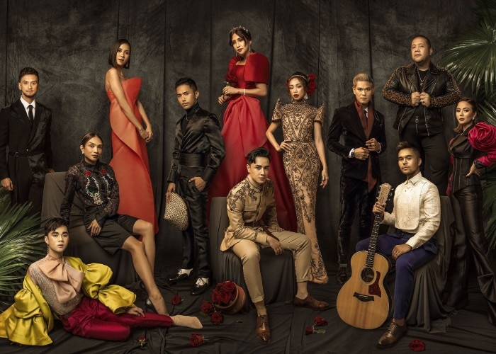 "Team RainxEm get celebrities ready for the ABS-CBN Ball 2019's ""Modern Filipiniana"" theme"
