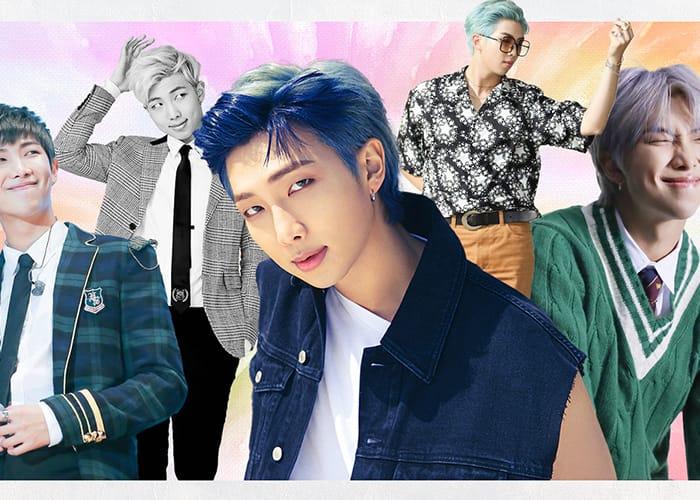 BTS RM Evolution