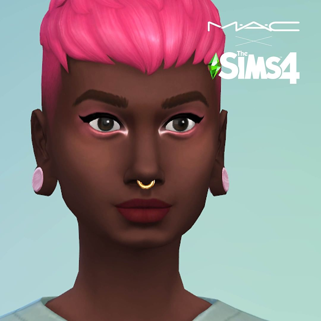 The Sims 4 X M.A.C Cosmetics