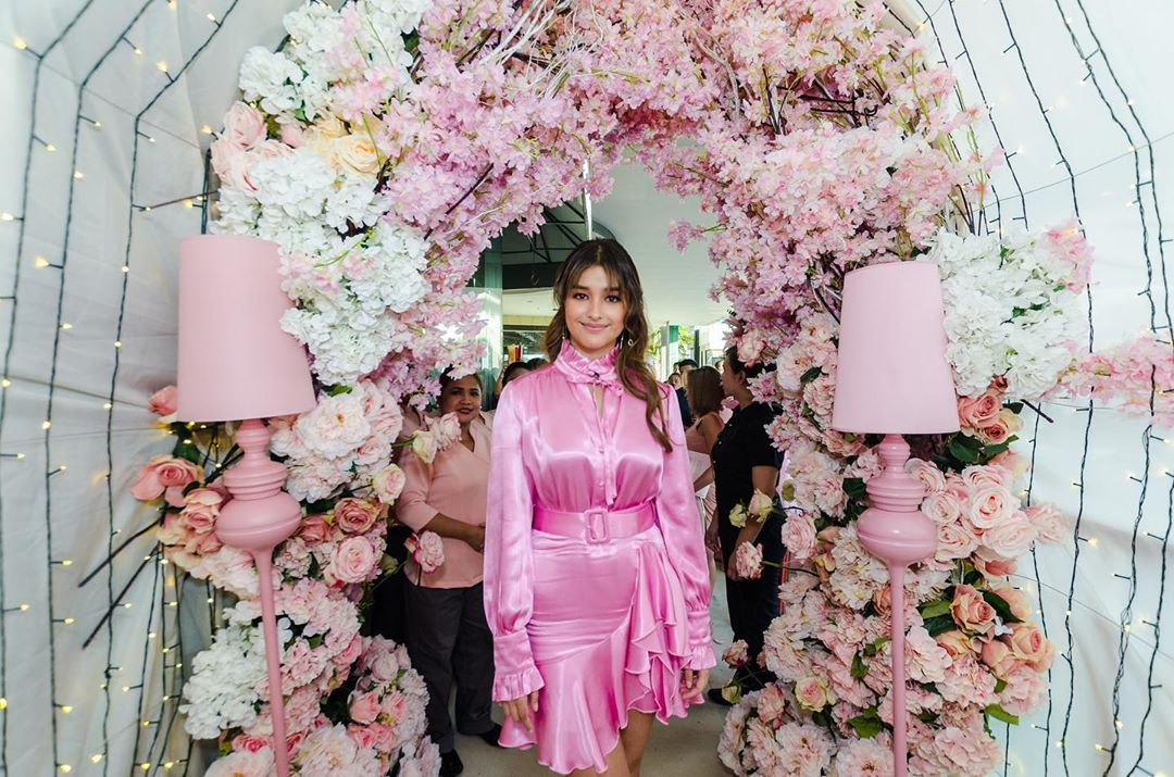 Liza Soberano at the Hope Wellness Alabang Branch Launch