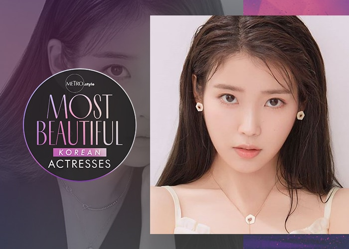 Metro Most Beautiful Korean Actresses: IU
