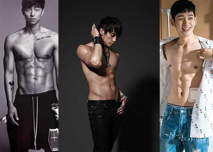 #Fitspiration: Korean Actors & K-Pop Idols