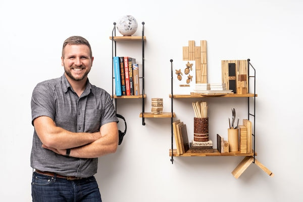 LOOK: This Modular Shelving System Is Made Entirely Of Chopsticks |  Metro.Style