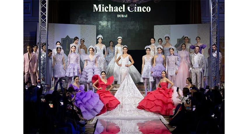 Michael Cinco at Al Arabia Fashion Days