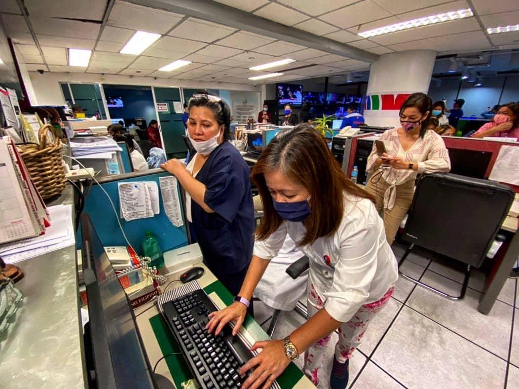 gretchen fullido abscbn shutdown newsroom scenes 0