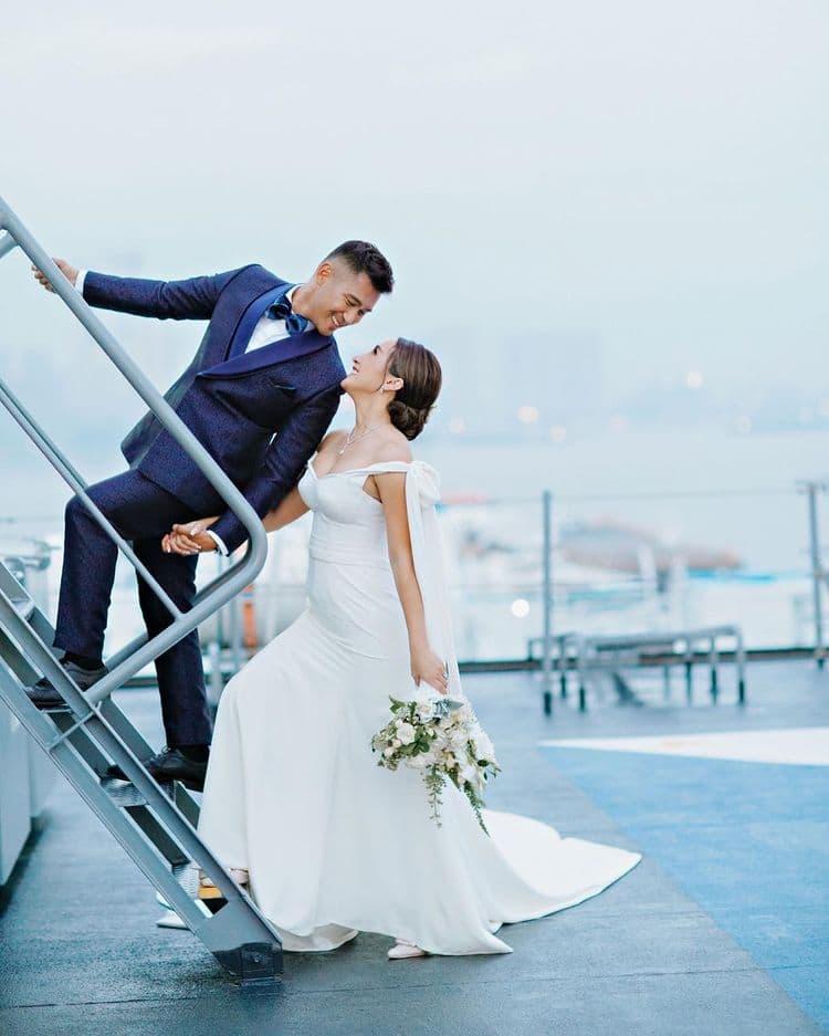 rocco nacino and melissa gohing's wedding