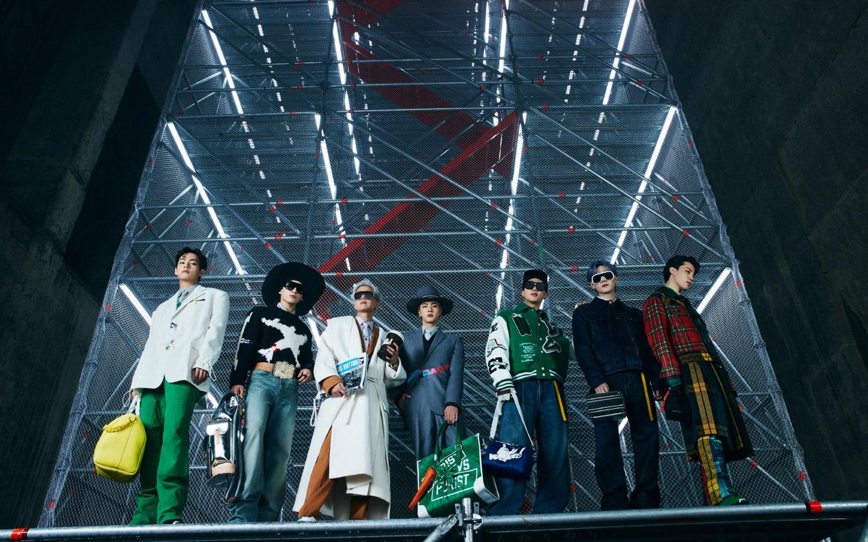 BTS for Louis Vuitton F/W 2021