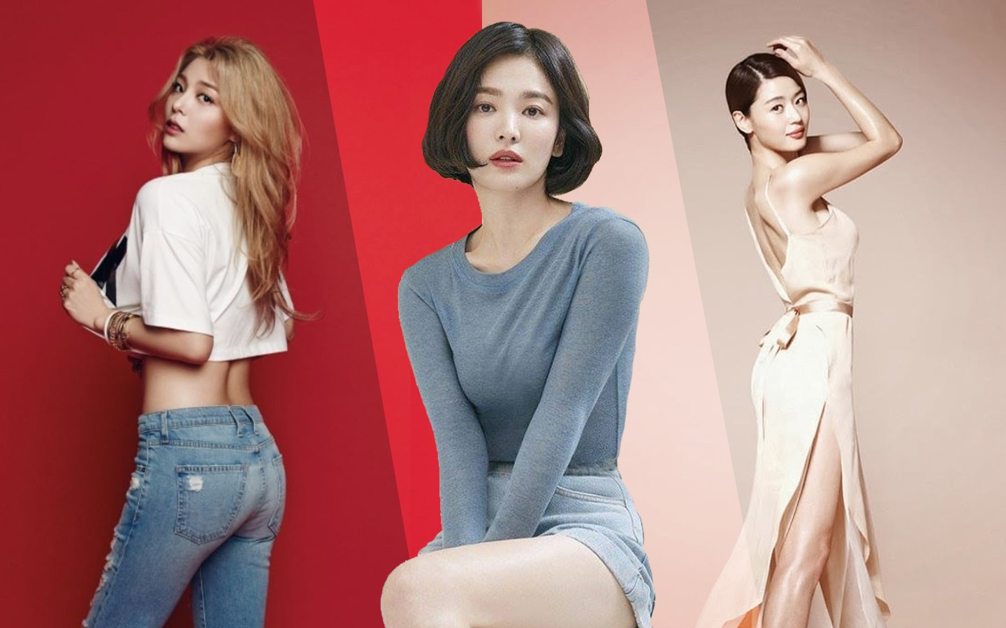 Fitspiration: Korean Actresses & K-Pop Idols