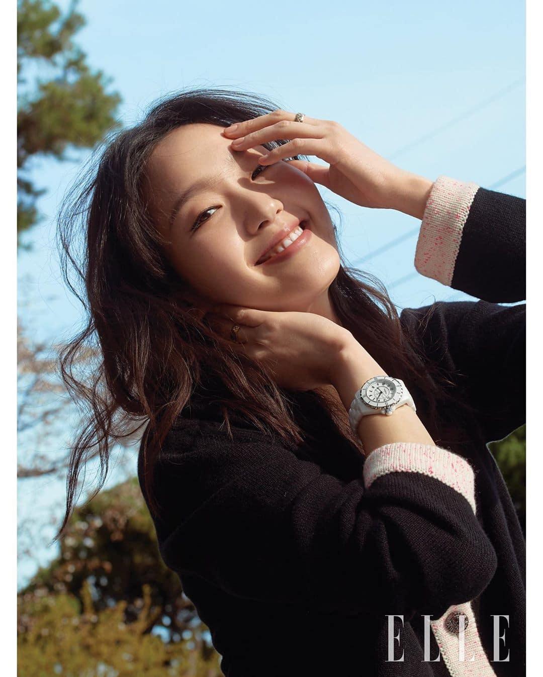 Kim Go-eun for Elle Korea