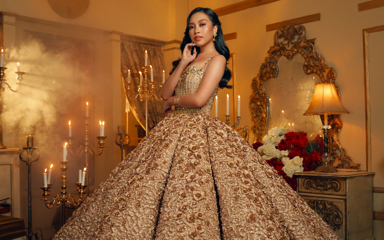 Erika Mercado's dreamy debut photoshoot