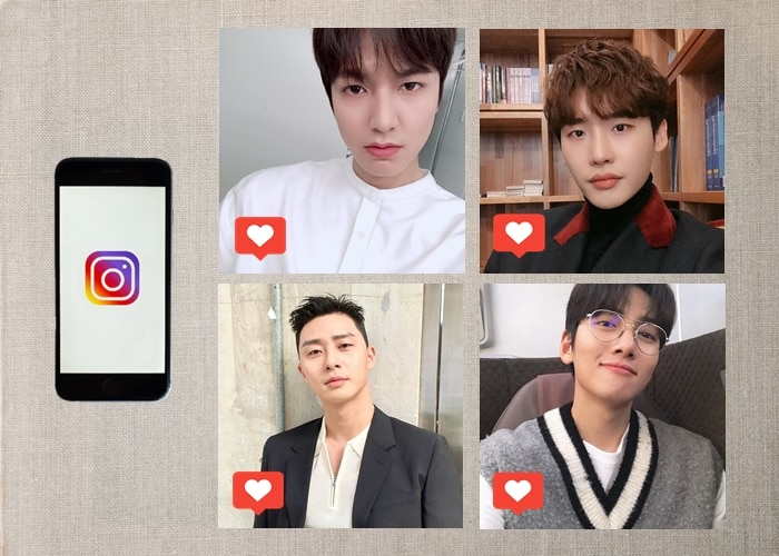 Korean Actors On Instagram