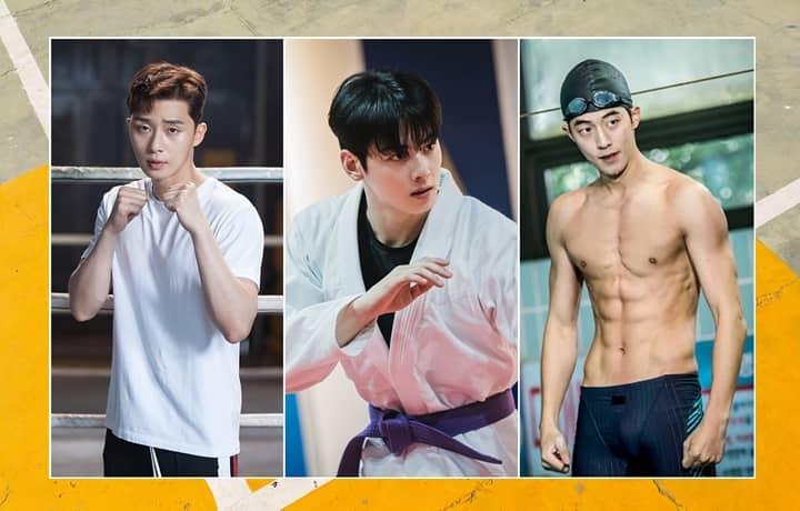 Korean Actors as Athletes in  K-dramas