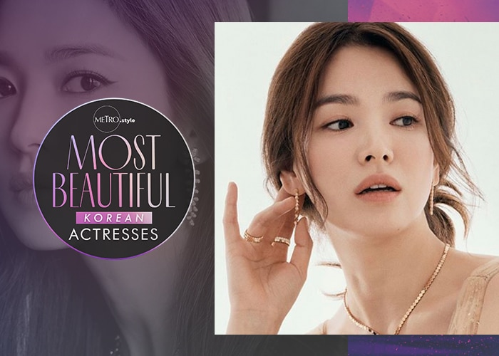 Metro Most Beautiful Korean Actresses: Song Hye-Kyo