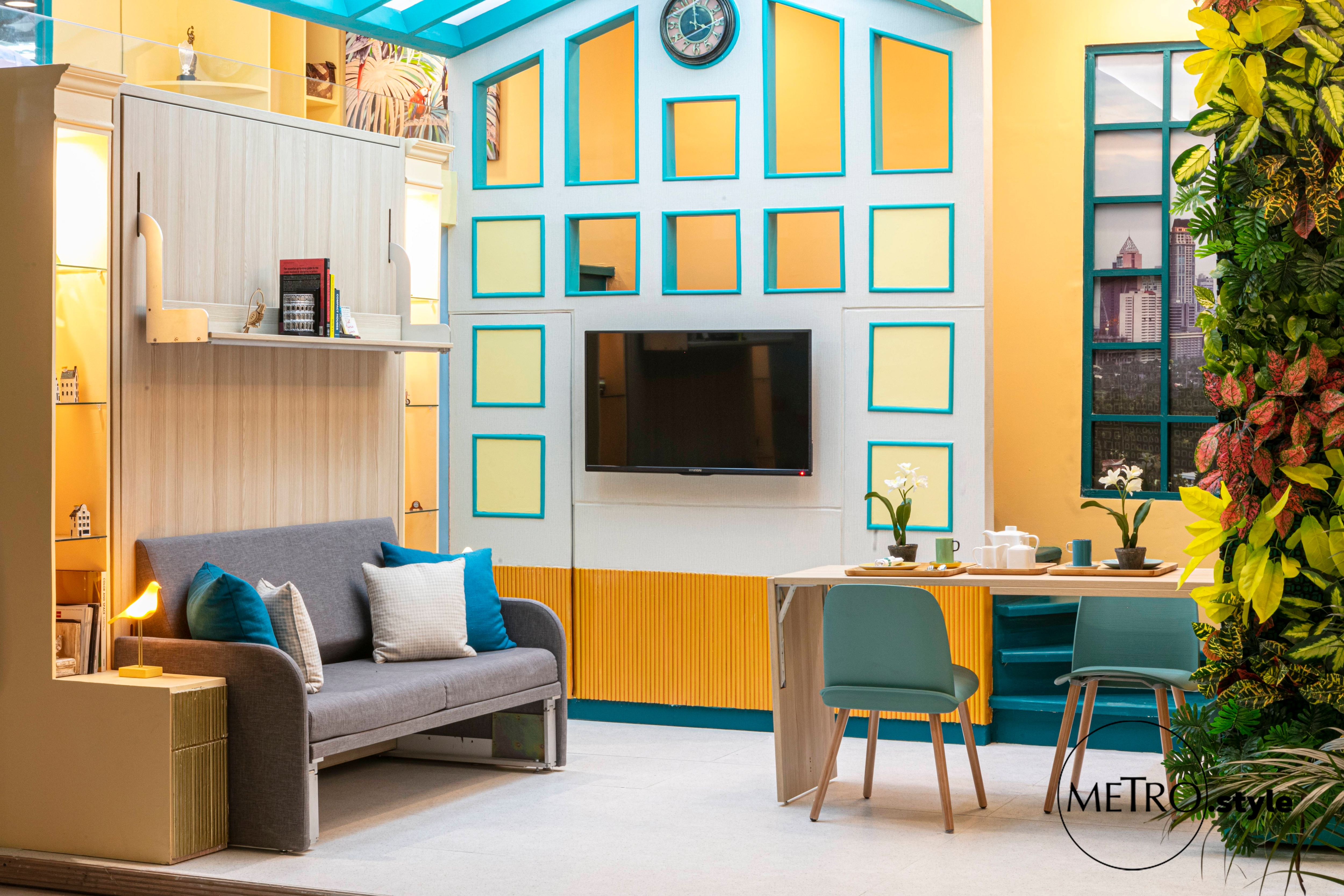 In Photos Homes With Geometrically Inspired Spaces By Philippine School Of Interior Design S 2019 Graduating Students Metro Style
