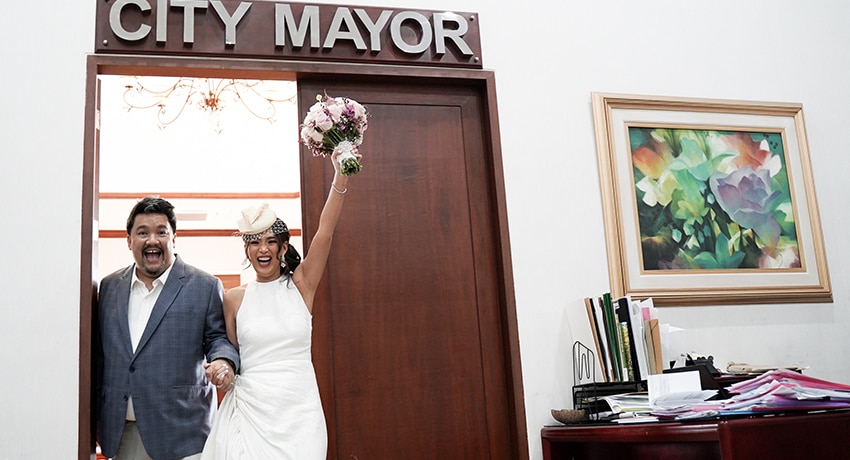 #RealWeddings: Robby and Aliza