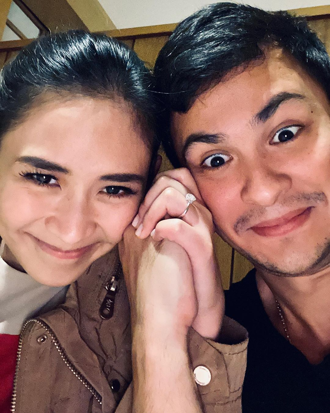 After the announcement of their engagement late last year, Sarah and Matteo are finally a married couple!