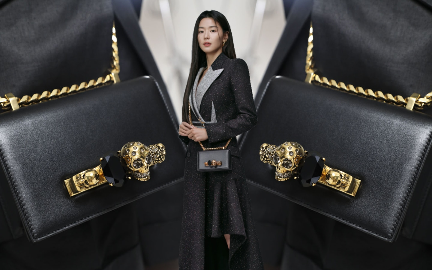 Jun Ji-Hyun for Alexander McQueen