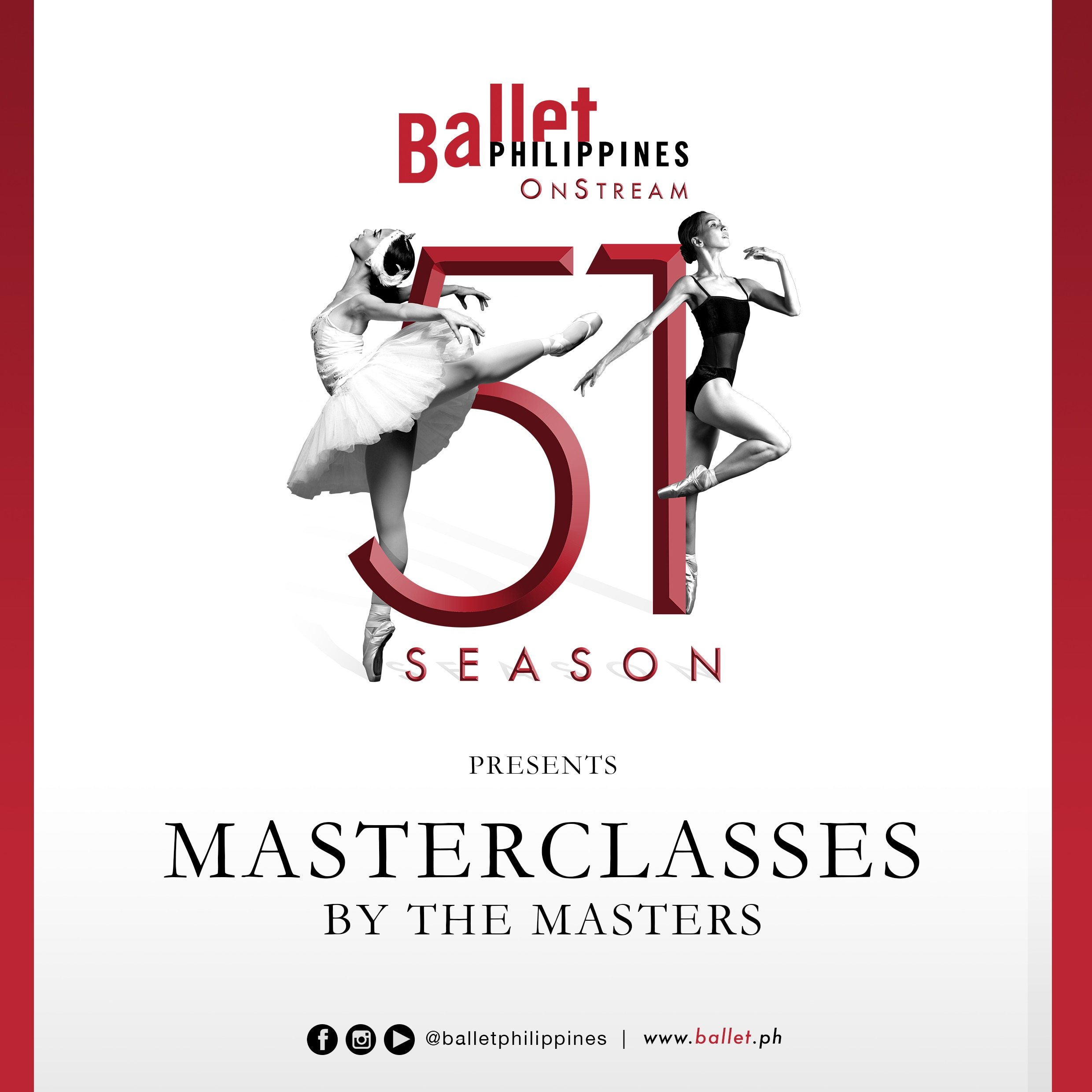 Ballet Philippines' Masterclass by the Masters