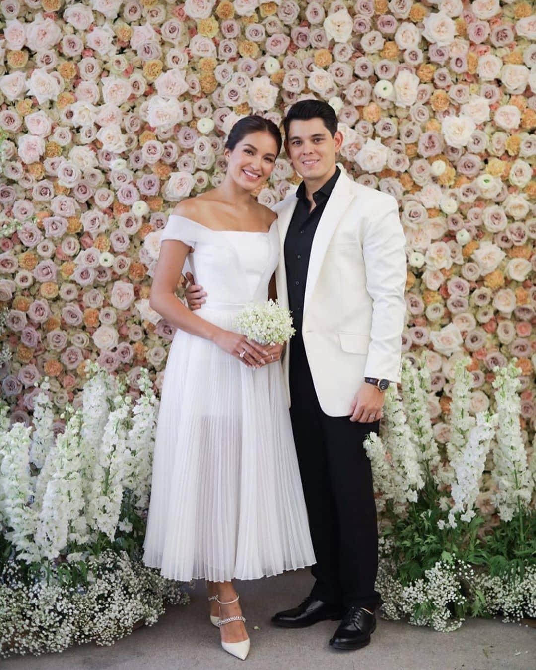 The newlyweds Mr. and Mrs. Gutierrez.