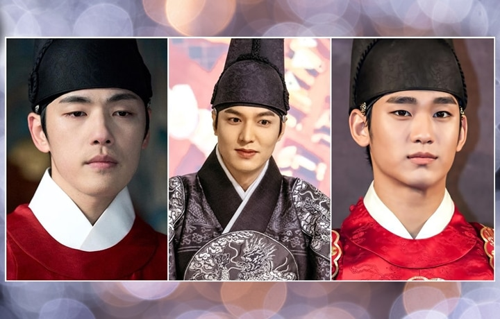 Korean Actors As Royals