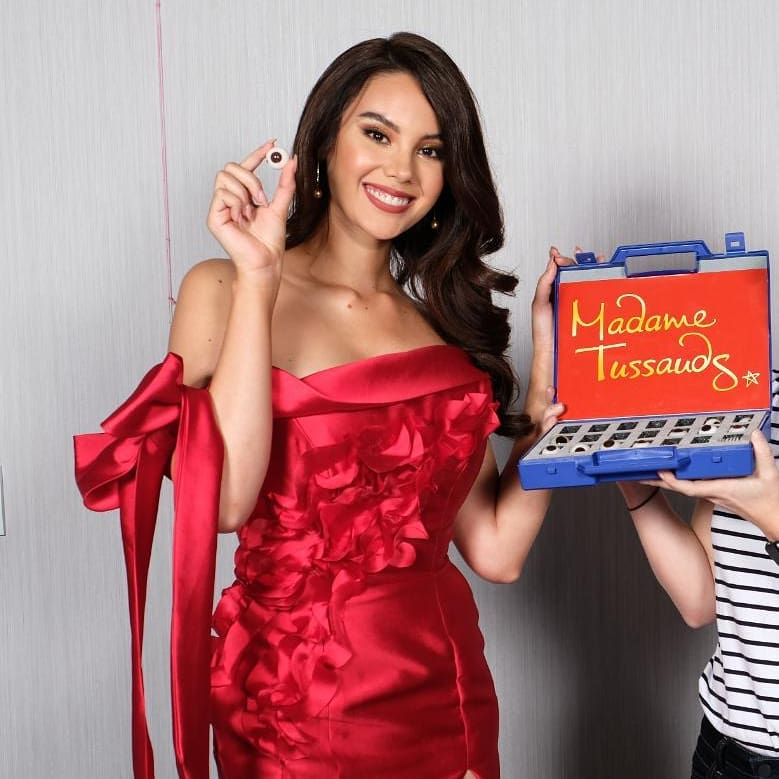 Miss Universe 2018 Catriona Gray for Madame Tussauds Wax Museum