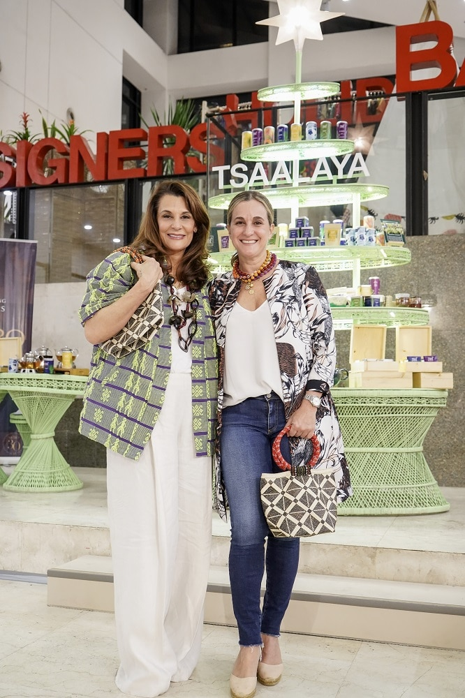 Sisters Bea Zobel, Jr. and Sofia Elizalde curated the selection of local designers and artisans featured in the Designers' Holiday Bazaar in Greenbelt 5