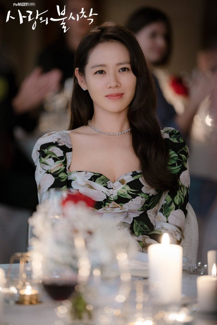 Son Ye-Jin stuns with her gorgeous soft curls as seen on Crash Landing On You.