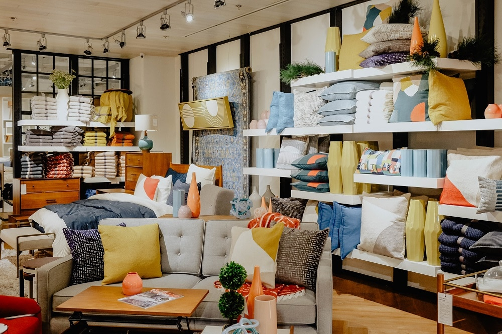 The Holiday Loft collection by west elm