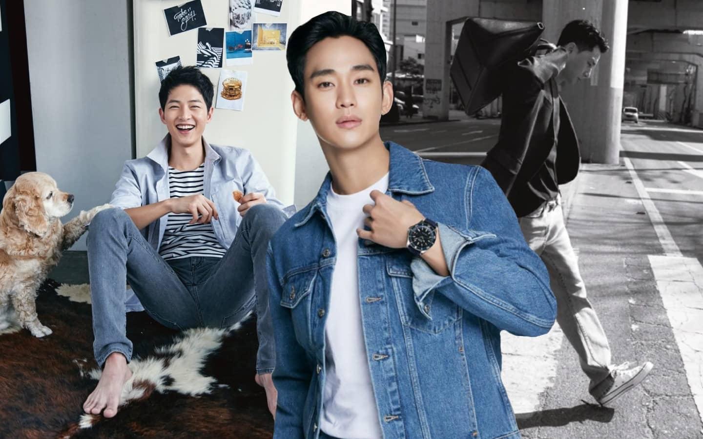 K-Actors in Denim Jeans