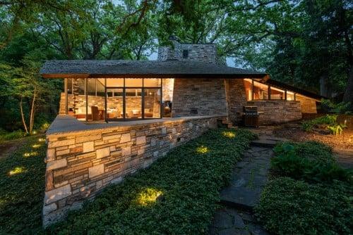 Freida and Henry Neil Home by Frank Lloyd Wright